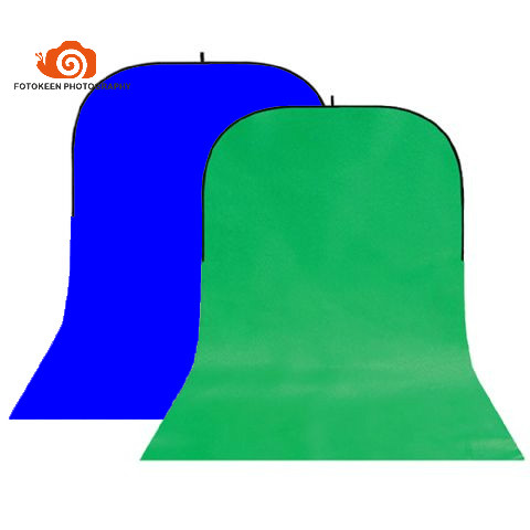Wrinkle-Resistant Cotton Collapsible Background Board Chromakey Green/Blue scree single trail twist backdrop150x400cm+Carry Bag single green board multidiag pro 2014 r2 keygen
