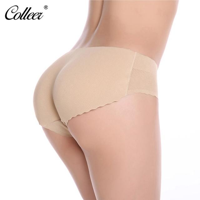 Padded Ass Underwear Women Panties Low Waist Seamless Calcinha