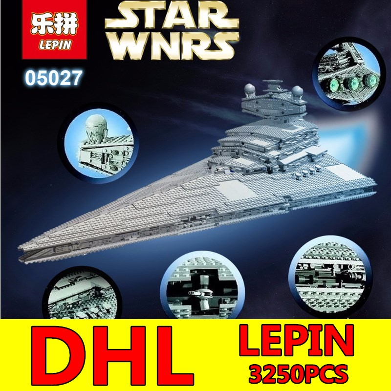 Star Wars LEPIN 3250pcs Emperor Fighters Starship Model Building Kit Blocks Bricks Assembling Toy Compatible Children Toy Gift