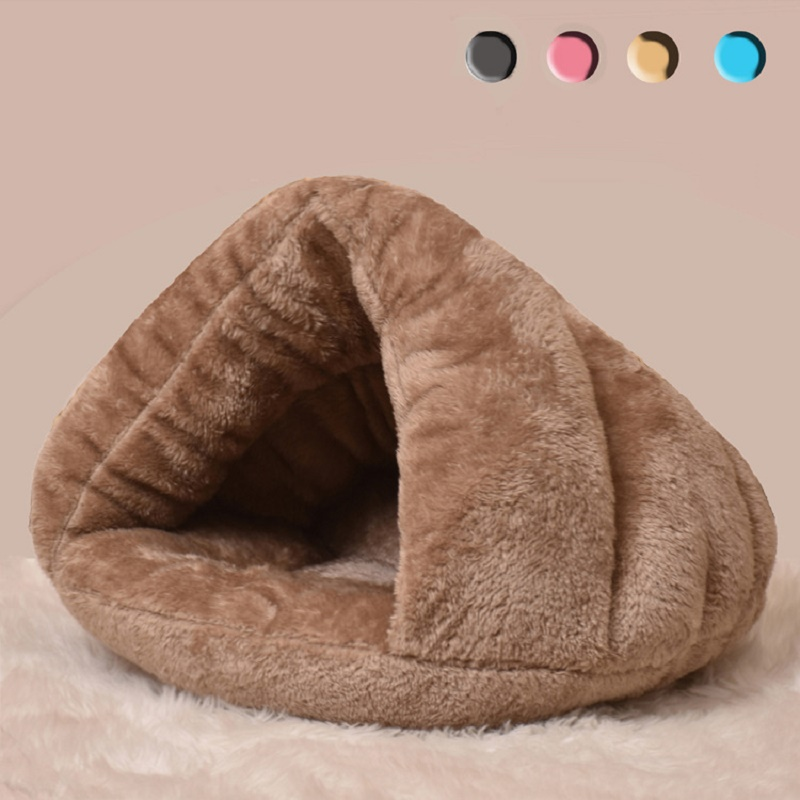 New Dog Cat Pet Beds Cotton Teddy Rabbit Bed House Snow Rena Dog Basket For Small Medium Dog Soft Warm Beds House