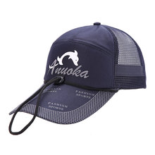 Men Women Adjustable Breathable Fishing Hunting Cap Sunshade Sport Baseball Golf Fishermen Running Hat Cap