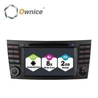 4G SIM LTE ПК с системой андроида 6,0 Octa 8 Core dvd плеер для автомобиля радио для Mercedes W211 E Class класс CLS E280 CLS350 W219 W463 dvd GPS Navi BT