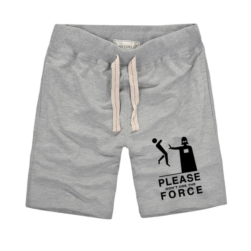 Yüksek Kaliteli Pamuk Şort Erkekler Slim Fit Şort 2019 Yaz - Erkek Giyim - Fotoğraf 4