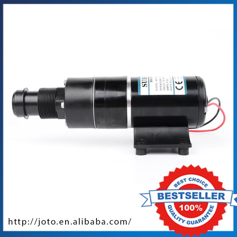 45L/min RV Trash Mashed Toilet Sewage Pump For Waste Processor Engineering Plastics Dirty Water Pump