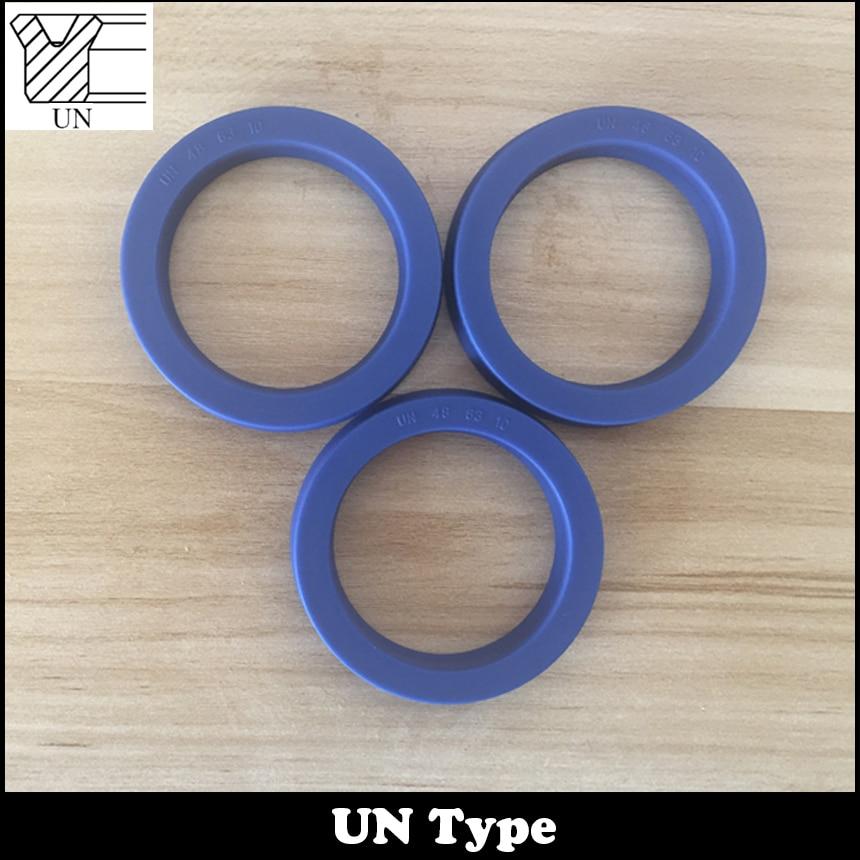 UN 53*63*6/7.5/8/10/12 53x63x6/7.5/8/10/12 TPU Hydraulic Rotary Shaft Piston Rod Grooved U Lip O Ring Gasket Wiper Oil Seal