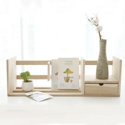Kreatywna książka półka organizer na biurko drewniana książka uchwyt stojak na biuro