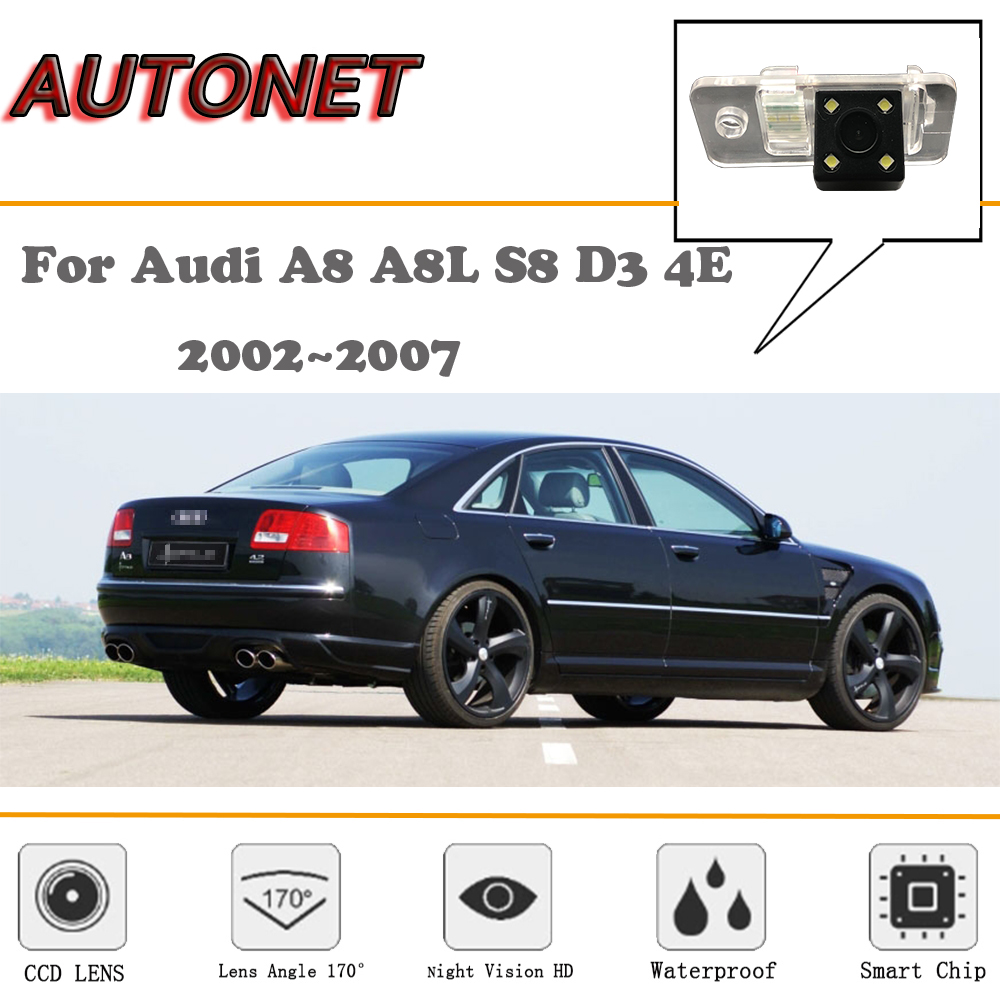 AUTONET Rear View camera For <font><b>Audi</b></font> <font><b>A8</b></font> A8L S8 <font><b>D3</b></font> <font><b>4E</b></font> 2002~2007/CCD/Night Vision/Reverse Camera/Backup Camera/license plate camera image