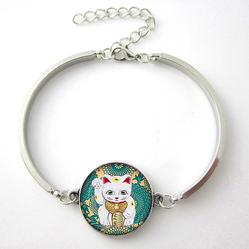 Japanese Neko Lucky Cat Handmade Bracelets  1