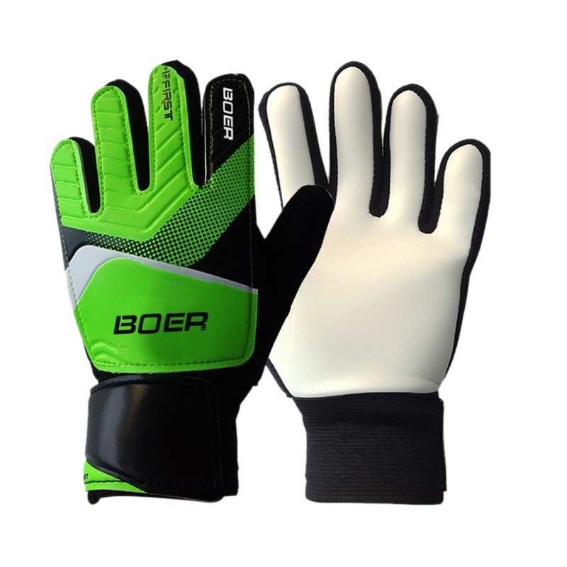 EFINNY Unisex Fitness Gloves Sporting Entry-level Children's Gloves Goalkeeper Football Non-slip Finger Embossed Gloves