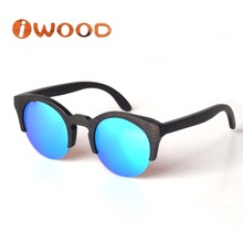 ZA42 Bamboo sunglasses Branded style glasses CR39 lens wood sunglasses fashion women sunglasses