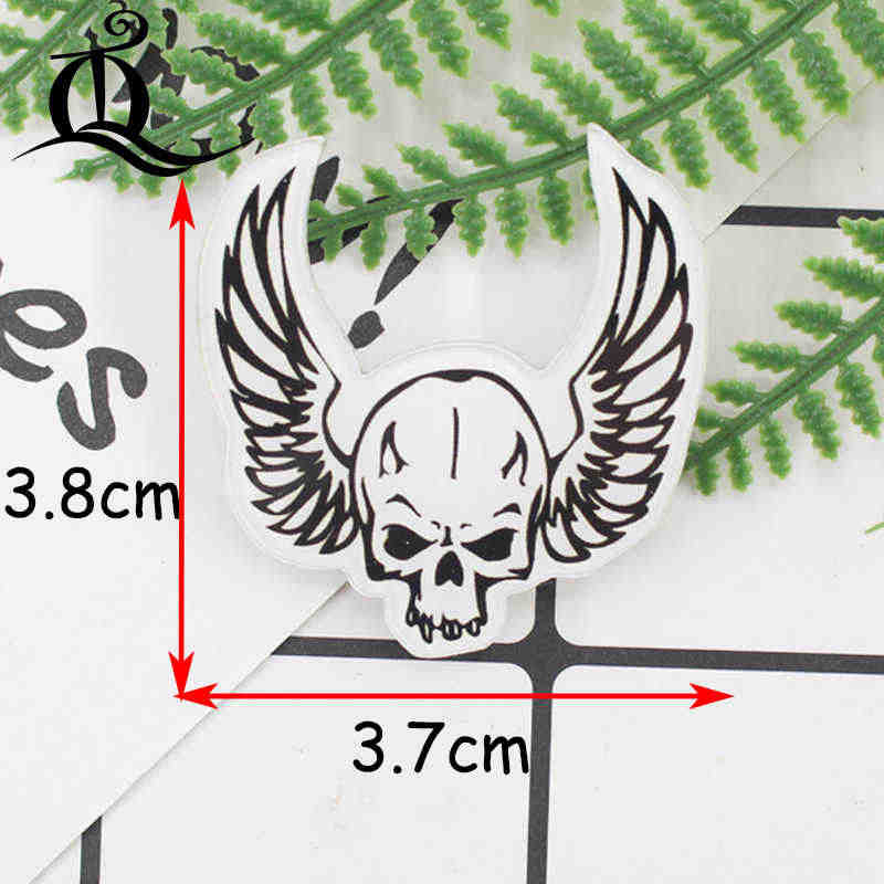 1 шт. ручная роспись скелет серии акриловые значки Kawaii значок значки на рюкзак значок для одежды булавки брошь 79