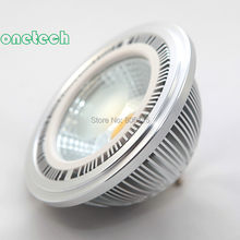 High Power AR111 15W COB LED Bulb Lamp Dimmable G53 15W COB LED Ceiling lamp QR111 LED Spot Light DC12V LED Light(China)