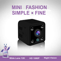 FHD 1080P Mini Camera WiFi DVR Sport DV Recorder with Night Vision Small Action Camera with WIFI Hotspot Audio & Video Recording