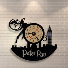 2018 New Wall Clock 3D Home Decor Vinyl Wall Mounted Time Clocks Antique Style Quartz Clock Horloge Murale