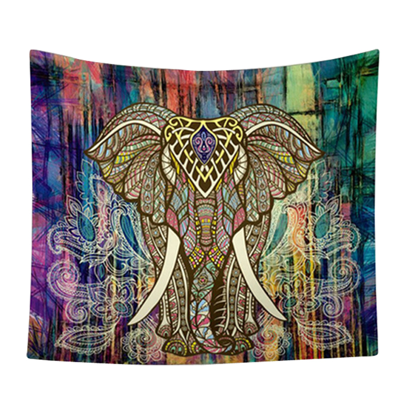 Elephant Tapestry Wall Hanging aliexpress : buy cammitever bohemian tapestry decoration good