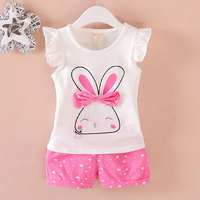 2017 Fashion Clothing Sets For Newborn Baby Girl Summer Clothes Outfit Wear Suit Infant Baby Girls