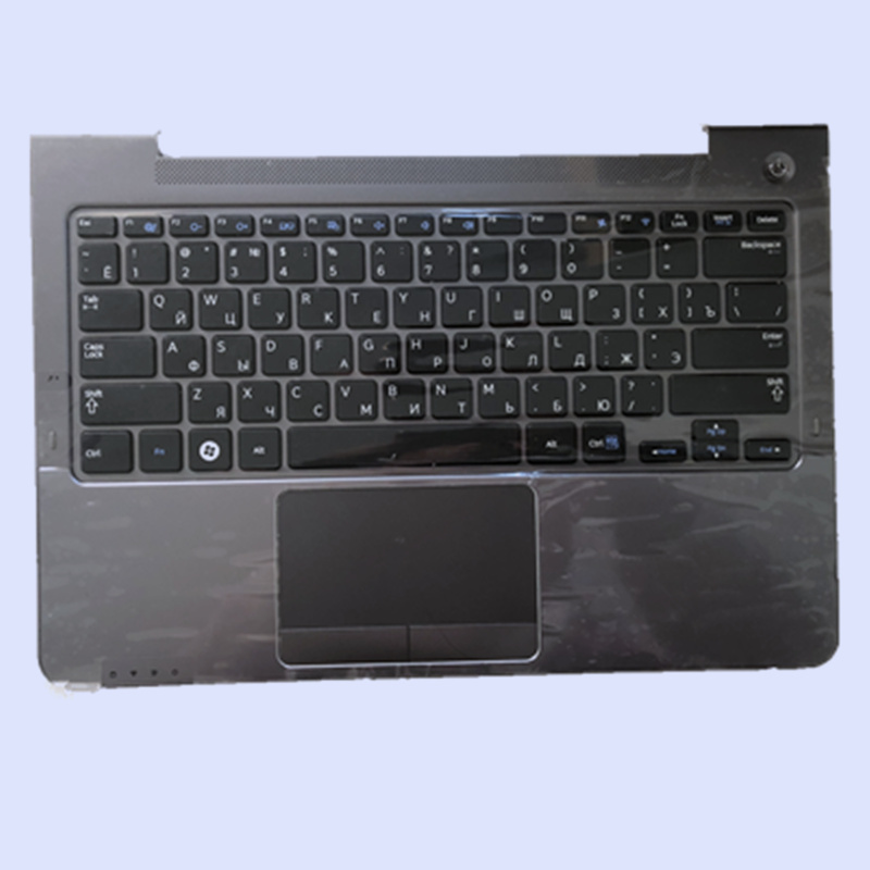 New Original Gray Laptop palmrest with Russian RU/US/FR/BR standard Keyboard for SAMSUNG NP530U3B NP530U3C 530U3B 530U3CNew Original Gray Laptop palmrest with Russian RU/US/FR/BR standard Keyboard for SAMSUNG NP530U3B NP530U3C 530U3B 530U3C