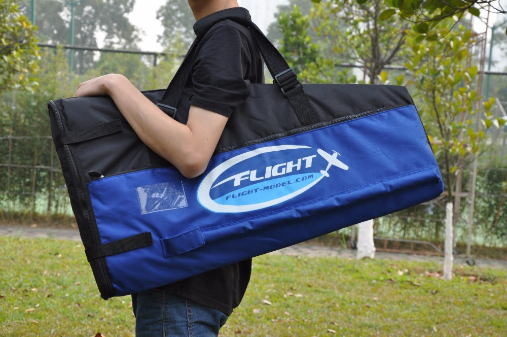 US Stock 98-113in (85-120CC) 3D Gas Plane Waterproof Protection Blue Wing Bag