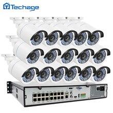 New 16CH 1080 P 48 V POE NVR 2.0MP CCTV-System 16 stücke 3000TVL POE Ip-kamera Onvif P2P Wasserdicht Outdoor Sicherheit Überwachung Kit