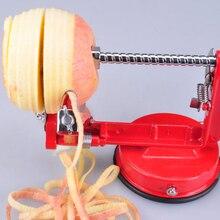 Obst apple 3in1 peeler corer sicher hobel cutter edelstahl saugfuß 88 j2y