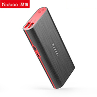 Hot Yoobao S7 10000mAh Portable Power Bank Dual USB 2A Charge External Mobile Backup Battery Charger
