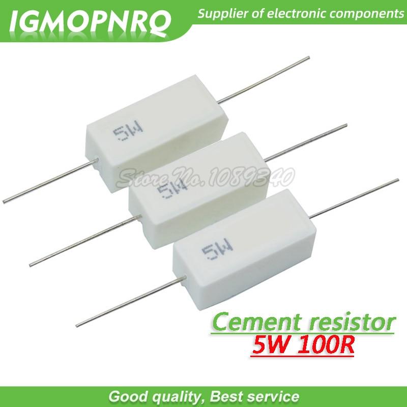 //-5/% Cement resistor 10 ohm 10PCS 5W 10R
