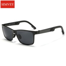Simvey 2017 Men HD Polarized Sunglasses Aluminum Magnesium Sun Glasses Driving Glasses Rectangle Shades UV400