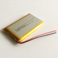3 7V 10000mAh Lithium Polymer Rechargeable Battery Li Po For GPS PSP DVD Power Bank 9