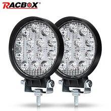 Лампа Worklight 4 »6» Вт 18 Вт 42 Вт 48 Вт Offroad тонкий рабочий свет 12 В в свет светодио дный интерьер LED светодио дный 4×4 светодиодный трактор фара прожектор для лодок