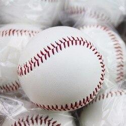 Nombre 9 balles de Baseball faites à la main PVC caoutchouc supérieur intérieur balles de Baseball souples balle molle exercice d'entraînement balles de Baseball