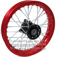 Dirt Bike Pit Bike Front 12 Inch Rims 12 For Small Off Road Motorcross CRF Front