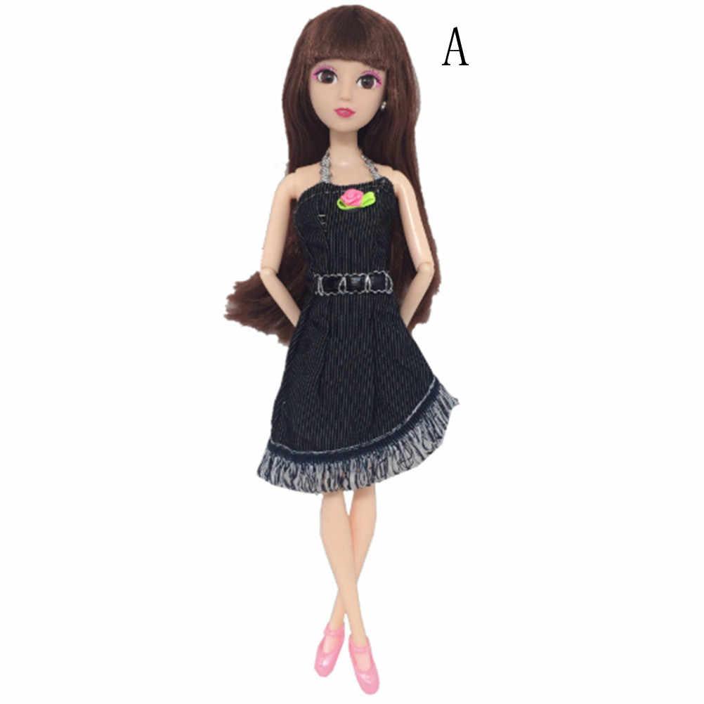 1 комплект ковбойский костюм принцессы с куклой модный сменить наряд джинсы топы и штаны юбка шорты для куклы 30 см лучший подарок для девочек