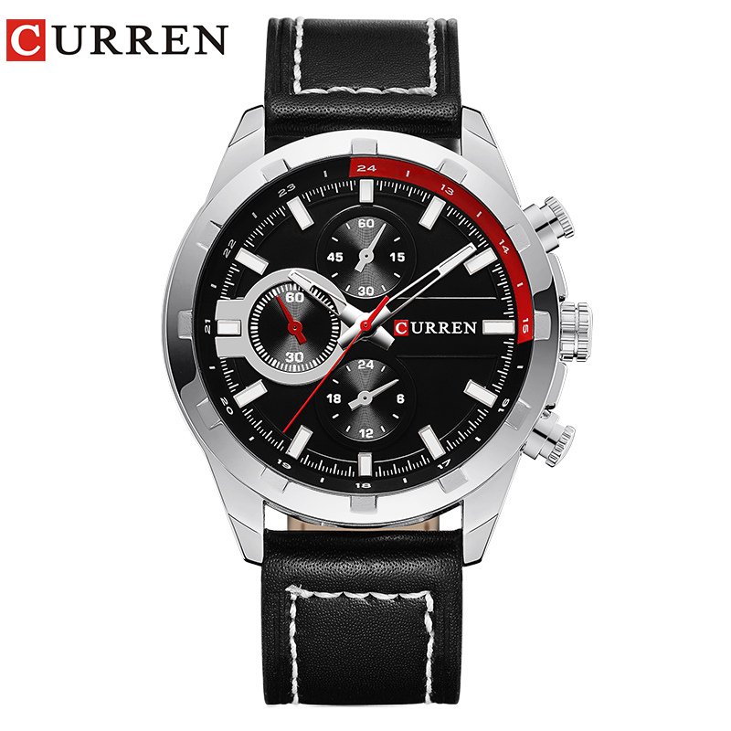 2015 CURREN Luxury Casual Men Watches Analog Military Sports Watch Quartz Male Wristwatches Relogio Masculino Montre Homme 8216