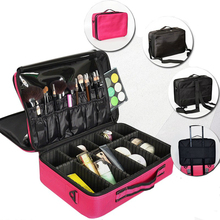 Cosmetic Case Women Travel Waterproof Large Capacity Storage Organizer Toiletry Necessity Professional Makeup Bag