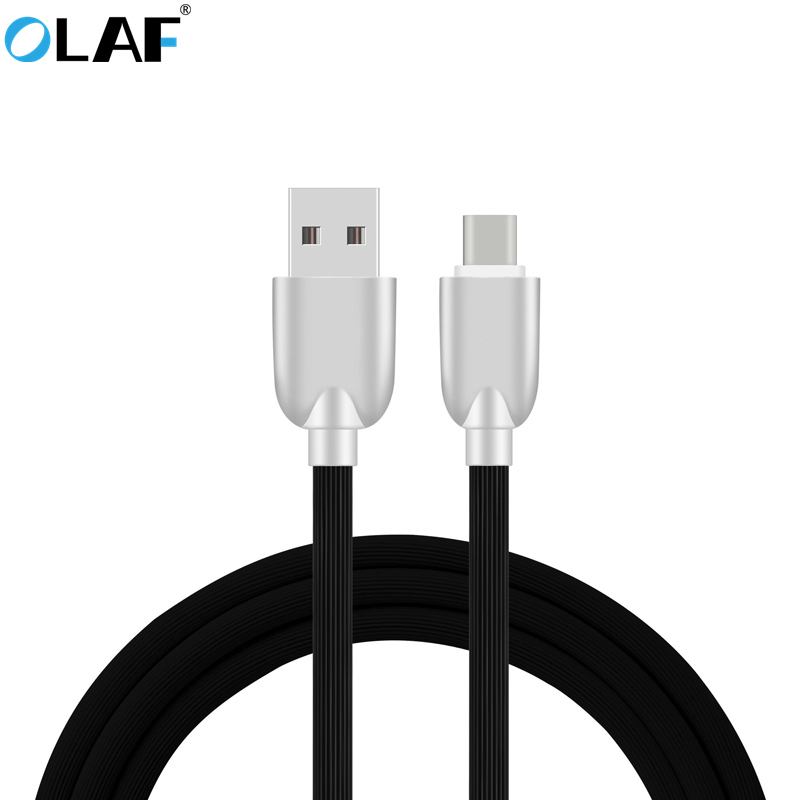 OLAF Zinc Alloy Plug USB Type C Cable Fast Charging USB TYPE-C Cable For Samsung Galaxy S8 Note 8 Huawei Oneplus Xiaomi USB C