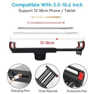 Image 5 - Support Flexible de support de tablette de téléphone portable de bras Long pour lipad Mini support en métal dagrafe de bureau de lit paresseux diphone Xiaomi Huawei