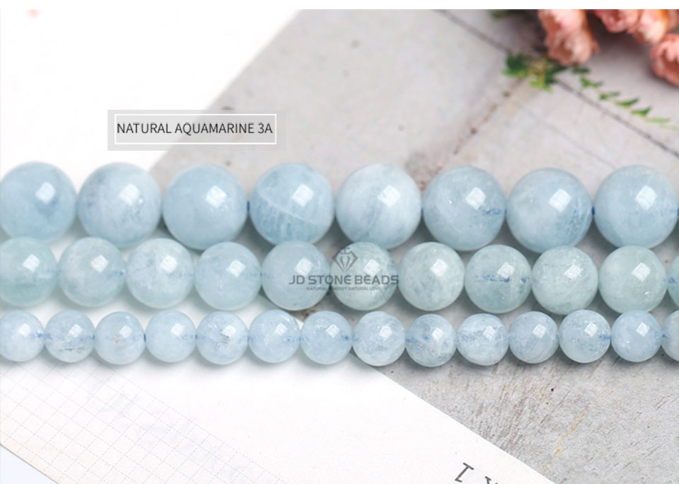 HTB1knKTXzzuK1RjSspeq6ziHVXaE 4 6 8 10 12 mm Natural Aquamarine loose Beads Free Shipping Faceted Blue Pick Szie  DIY Accessory Gemstone For Jewelry Making
