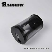 Barrow Reservoir DIA 65mm TL 98mm 135mm 220mm for water cooler Black body Black Cap water