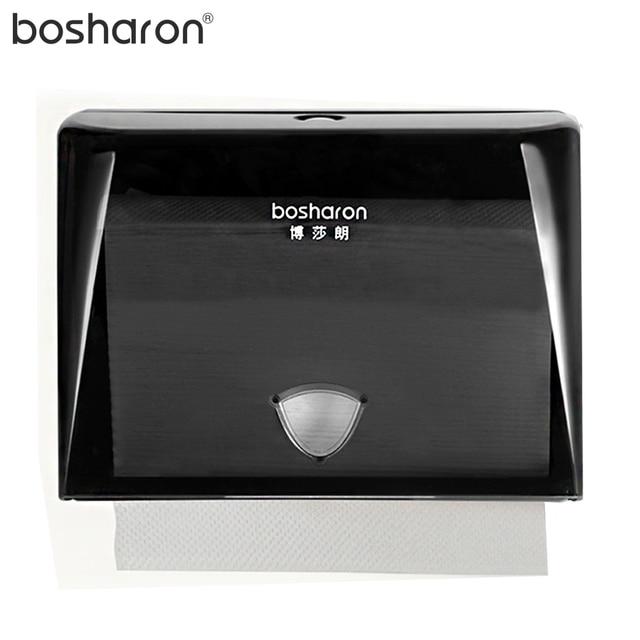paper towel dispenser for n fold hand paper abs plastic tissue box button open 4 colors - Paper Towel Dispenser