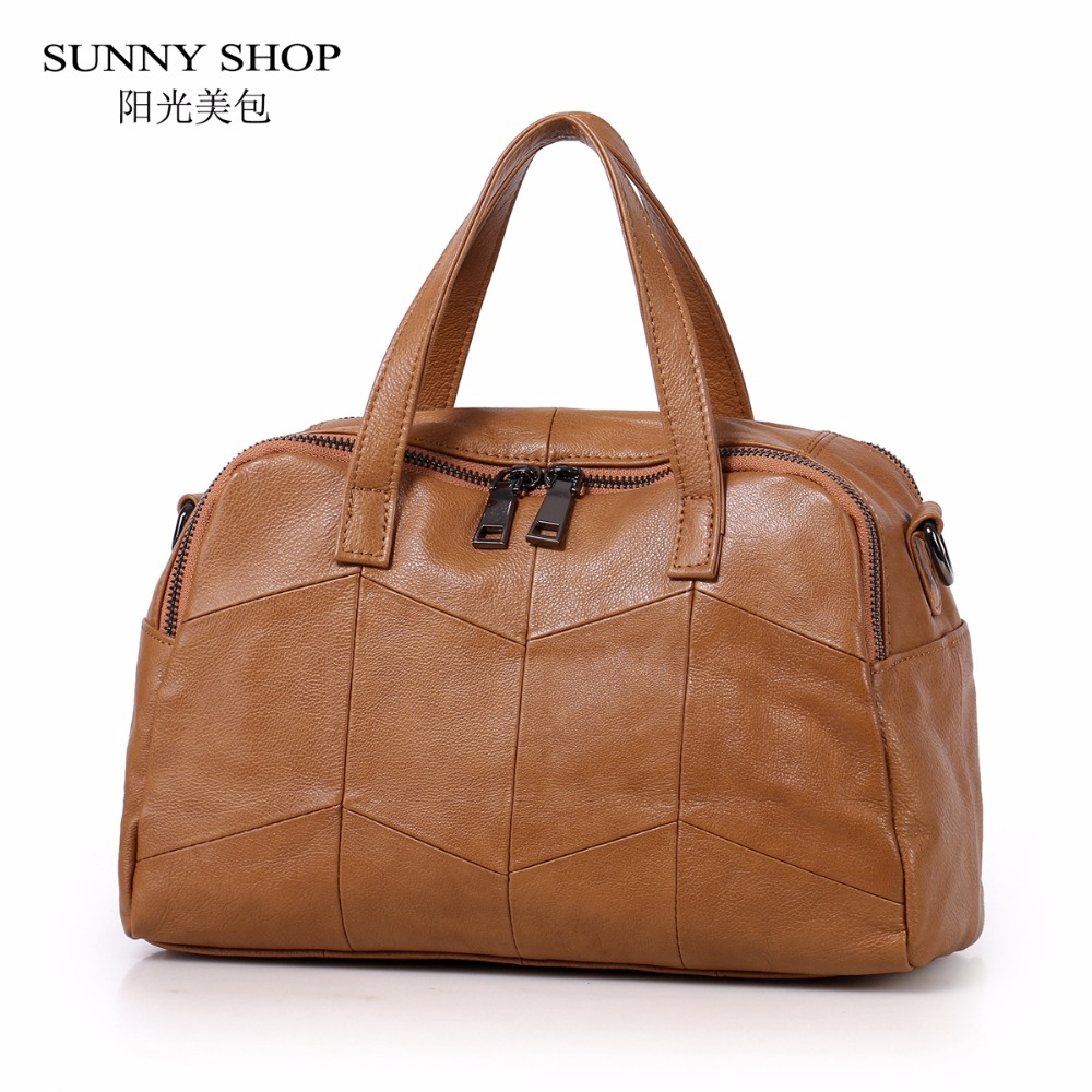 SUNNY SHOP Vintage Luxury 100% Genuine Leather Bags For Women 2018 Soft Natural Leather Shoulder Bags Small Crossbody Bag Plaid SUNNY SHOP Vintage Luxury 100% Genuine Leather Bags For Women 2018 Soft Natural Leather Shoulder Bags Small Crossbody Bag Plaid