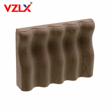 VZLX Furniture Wood Carving Appliques Vintage Nautical Decor Cabinet Door Solid Decals Flowers Pattern Carved Wooden Accessories