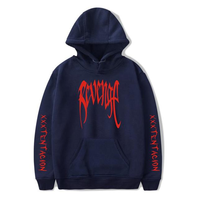 Revenge XXXTentacion Hoodie Sweatshirt Men Women Casual Pullover Streetwear Sudadera Hombre Harajuku Male Hood Crewneck Hoodies