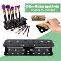 Pro Make up Brush Set Dry Rack Drying Brushes Shelf Multifunction Stand Display Makeup Brush Holder #94549