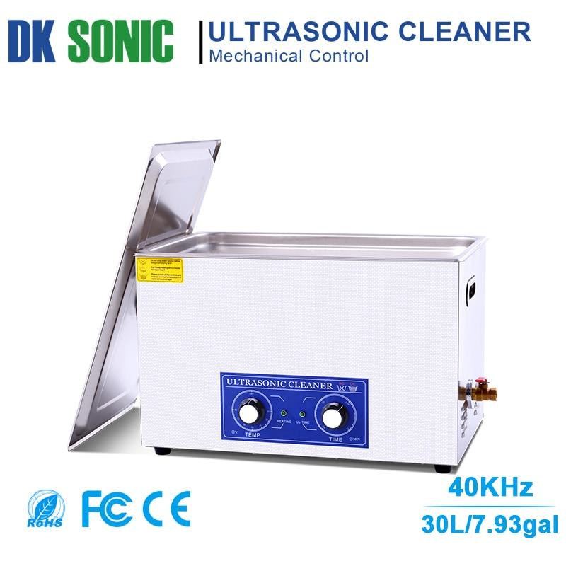 Grand décapant ultrasonique de carburateur de 30L avec le contrôle de bouton pour les accessoires industriels de matériel