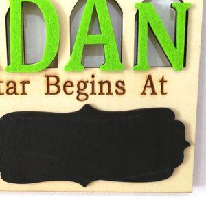 Image 3 - 1 conjunto islam ramadan contagem regressiva para eid mubarak advento de madeira pendurado placa mensagem casa diy decorações artesanato festa suprimentos