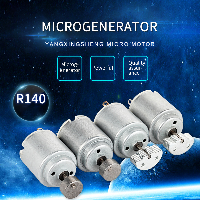 3pcs 3V 0.3A 14000RPM Micro DC Motors for DIY Toys Hobbies Smart Car MOTOR 140 Small Motor Handmade DIY