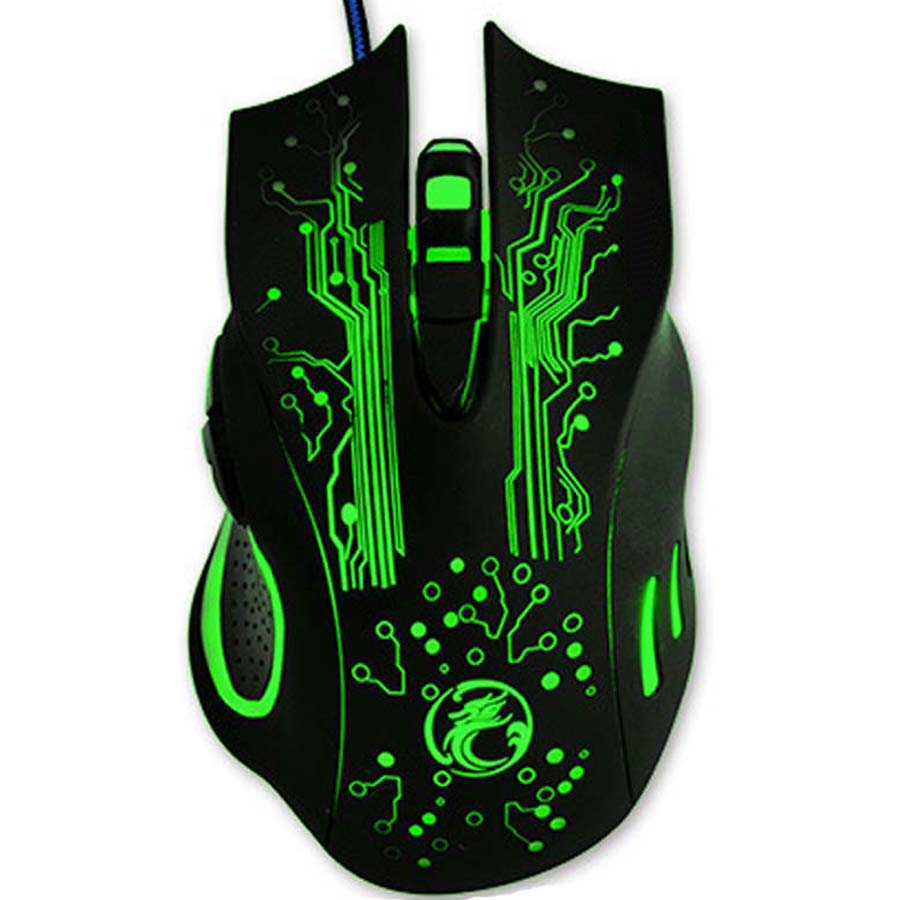 Hot Sale Estone X9 5000DPI LED Optical USB Wired Gaming Mouse Gamer Computer PC Laptop Professional Game Mice batter than X5 X7 цена и фото