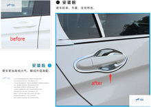 High Quality ! For Honda CITY Grace Sedan 2014-2016 ABS Side Door Handle Bowl Cover Trim(China)