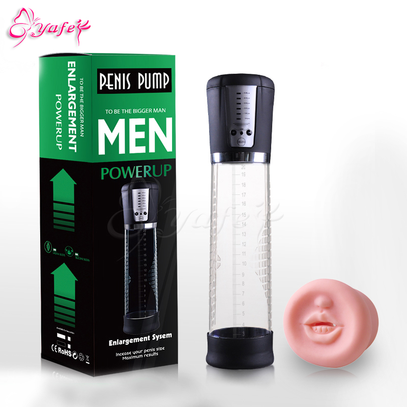 USB rechargeable automatic electric Electric Penis Pump Developer Penis Extender Enlarger Enhancer sex toy for boy