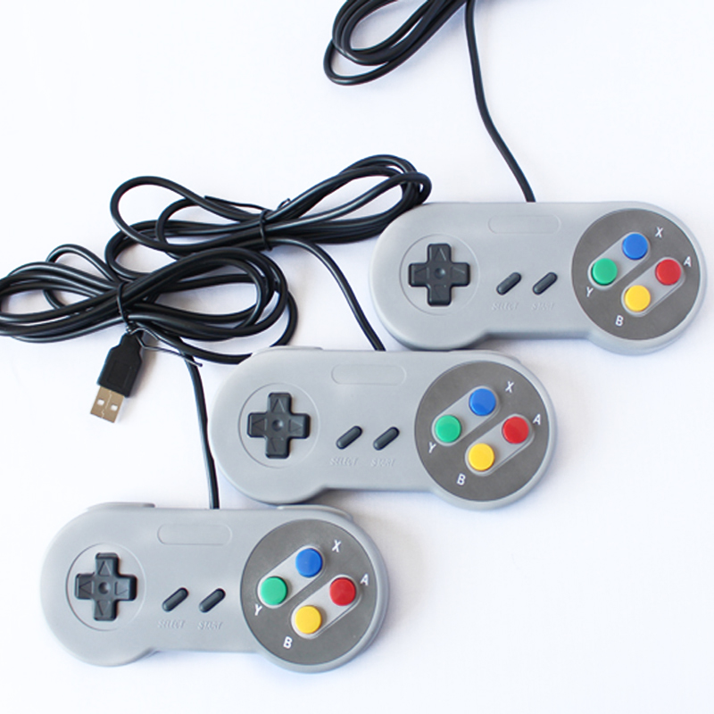 Image 5 - USB2.0 Controller For Super Nintendo Snes Classic Wired PC Super Snes Controller USB-in Gamepads from Consumer Electronics
